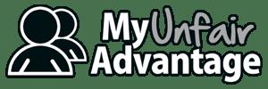 My Unfair Advantage logo, MUA-Black-Logo-300x100-300x100