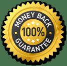 100% Money Back Guarantee logo