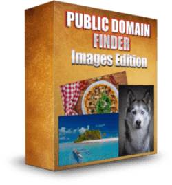 Public Domain Finder: Images Edition box