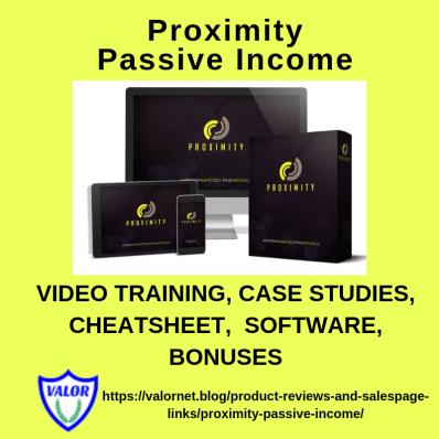 Proximity Passive Income Ad