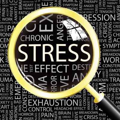 Stress cortisol depletes thyroid