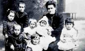 profughi di Povo a Znojmo, Znaim, Moravia