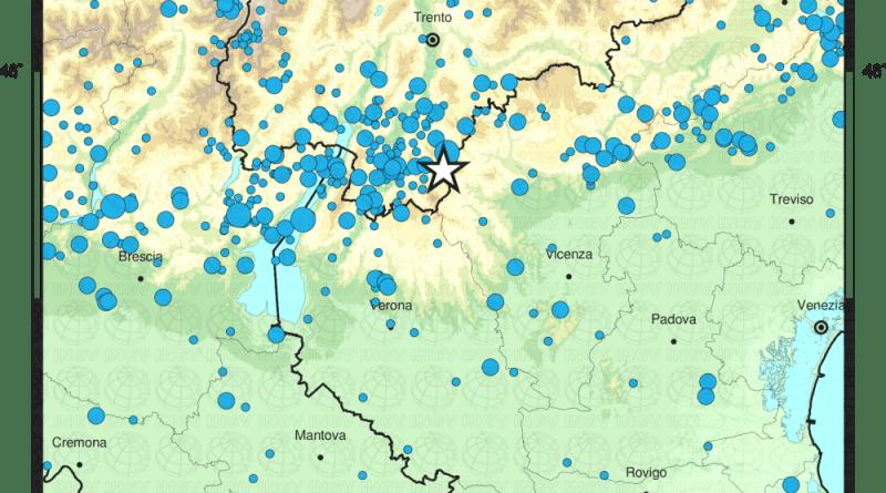 Terremoti in Trentino nella storia