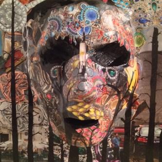 """Progress Despite Trees Male 12""""x12"""" Wall Sculpture Price $325.00"""