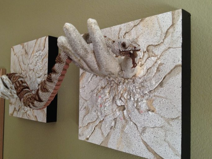 SeeMore in Her Hands Font view Wall/Bead Sculpture Price $6,500.00