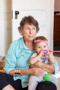 Granny Jenni Visits