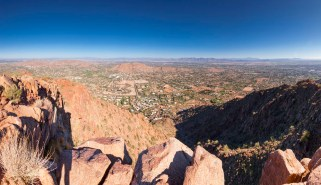Figured I should earn my alcohol calories with a hike up Camelback