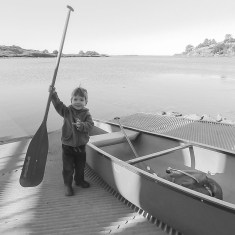 A morning paddle to the mouth of the Russian River