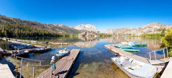 Day Four: A stop at Gull Lake on the way to June Lake for a swim