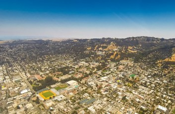 UC Berkeley from the air