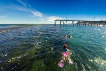 Snorkeling in Port Noarlunga