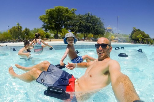 A very fun day with the kids at Wet 'n' Wild Phoenix