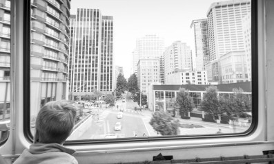 Monorail from Seattle Center to downtown