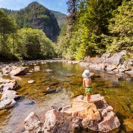 Cooling off at Olallie State Park