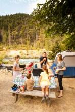Camping at Trinity Adventure Park