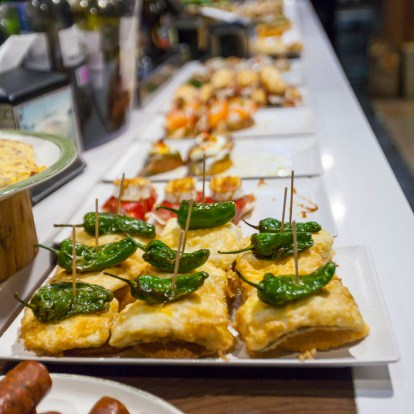 Our introduction to pintxos