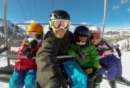 Ripping with the kiddos!