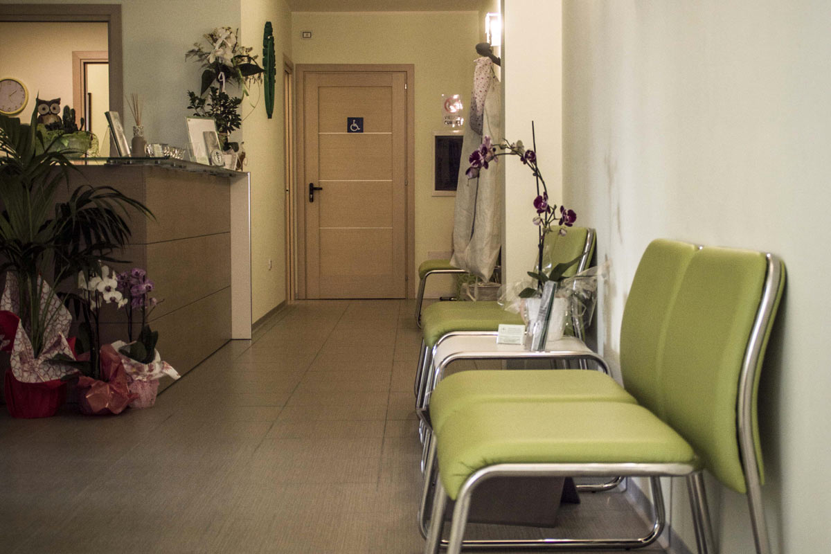 Sala d'aspetto dell'osteopathic clinic