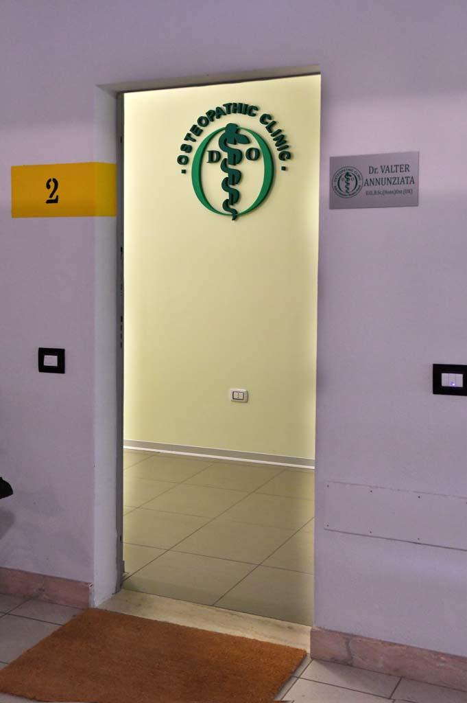 Dettaglio Interno Osteopathic Clinic