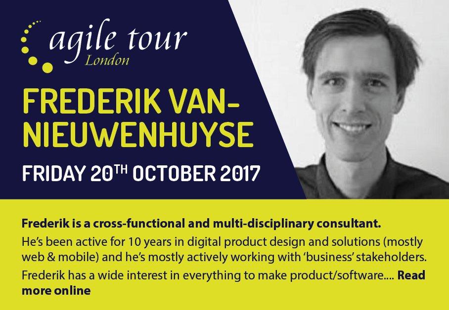 Agile Tour London 2017 - Frederik Vannieuwenhuyse