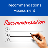 Self Assessment,  Recommendations Audit, Remote Audits
