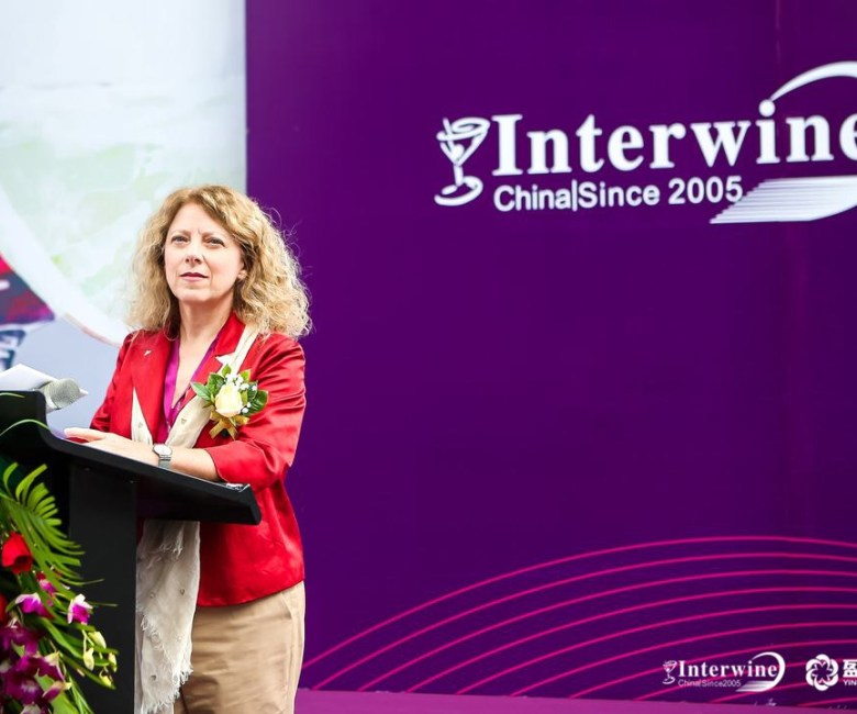 Direttrice ITA alla cerimonia apertura Interwine