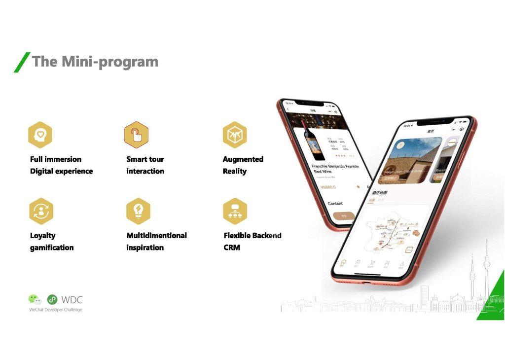 Global WeChat Developer Challenge - il Mini Program di Value China