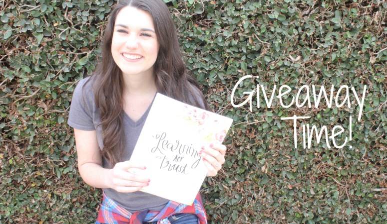 Learning to Trust Book Giveaway