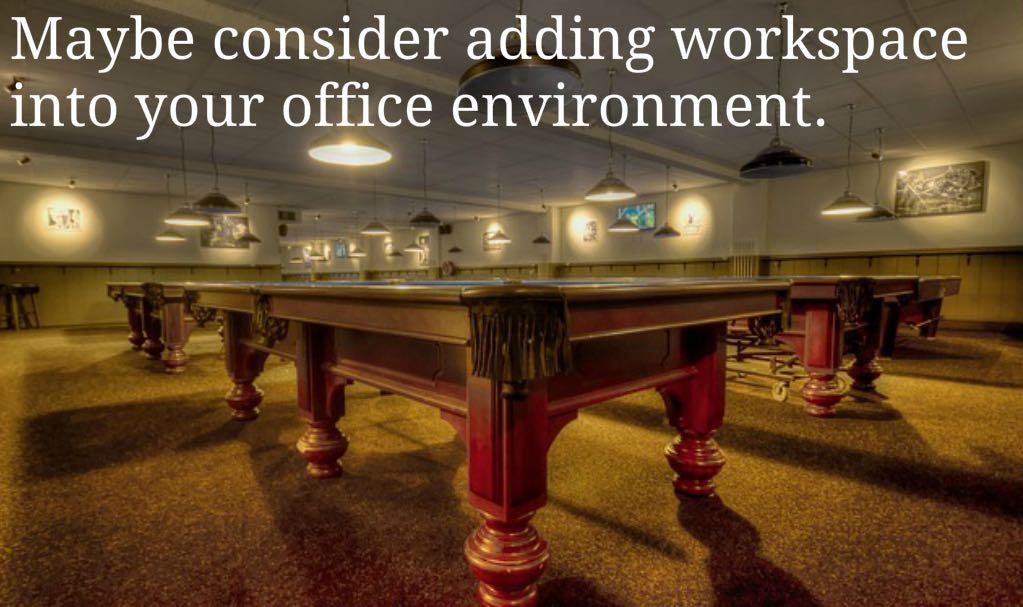 A Fun Working Environment