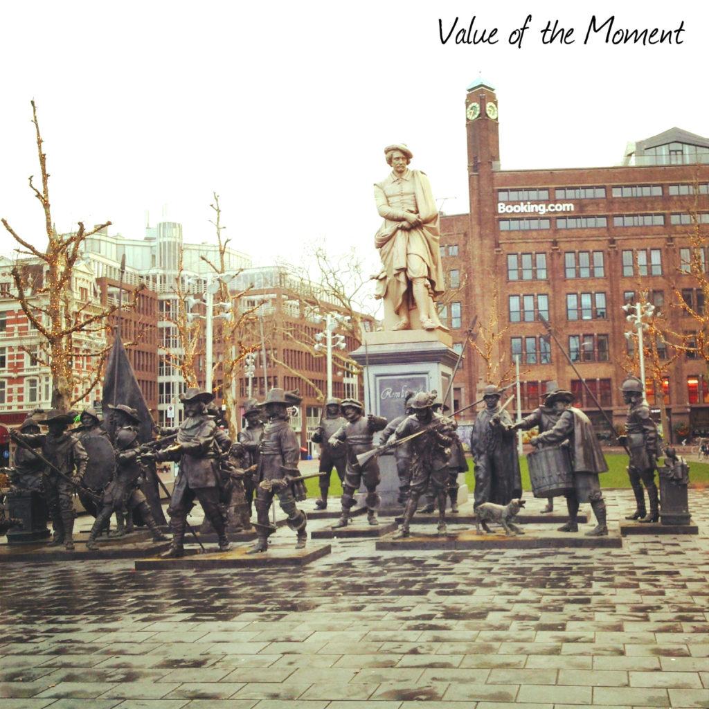 Скульптурная композиция, Амстердам, Голландия (Нидерланды)