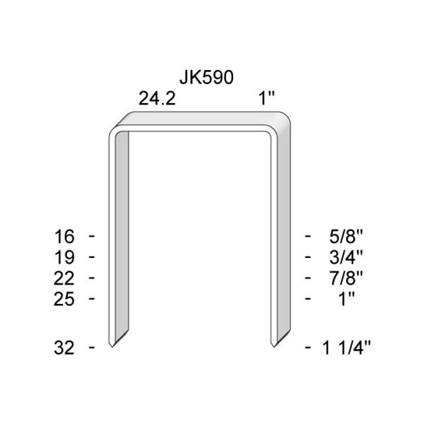 JK590 Capse industriale