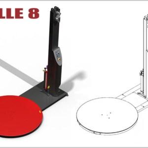Masina de infoliat Rolle 8 Valuepack.ro