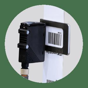 Masina de etichetare industriala