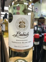 Babich New Zealand Sauvignon Blanc