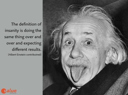 Albert Einstein Wahnsinn Englisch.001
