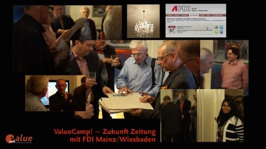 ValueCamp! — Zukunft Zeitung mit FDI Mainz:Wiesbaden Bild 1
