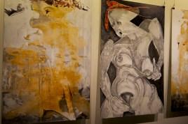 Neue Gemälde von Valy. Foto: GVS