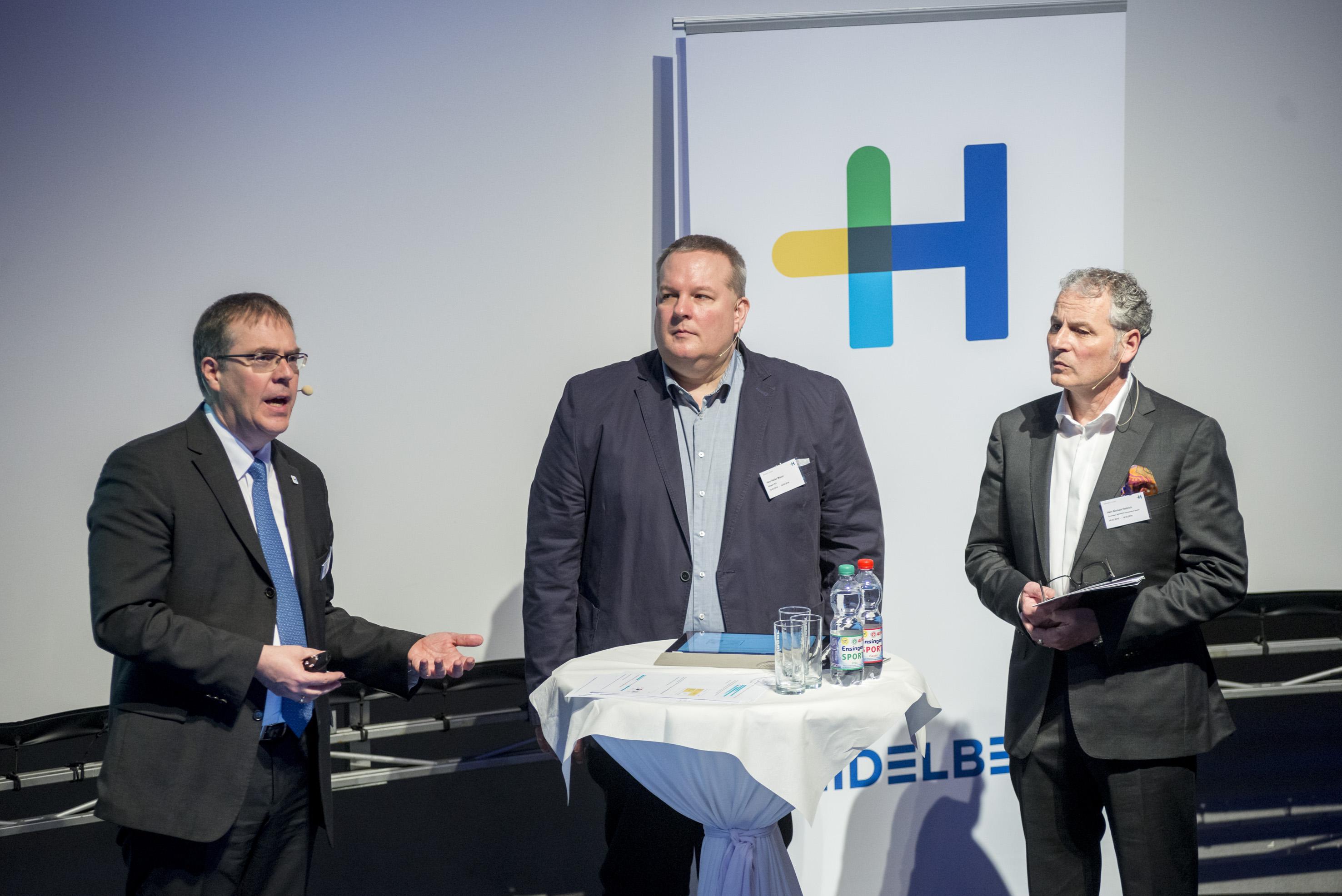 From left: Harald Weimer, Heiko Mazur and Norbert Hettich. Photo: Heidelberg