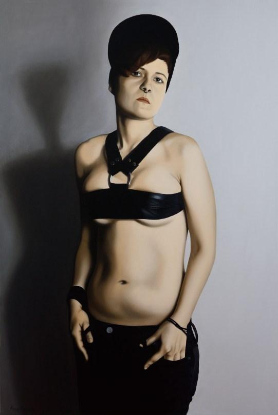 Anna Grau: Lilith.2, Öl/Leinwand, 100x140 cm