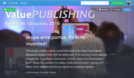 02-drupa2016 ValuePublishing drupa media conference Story