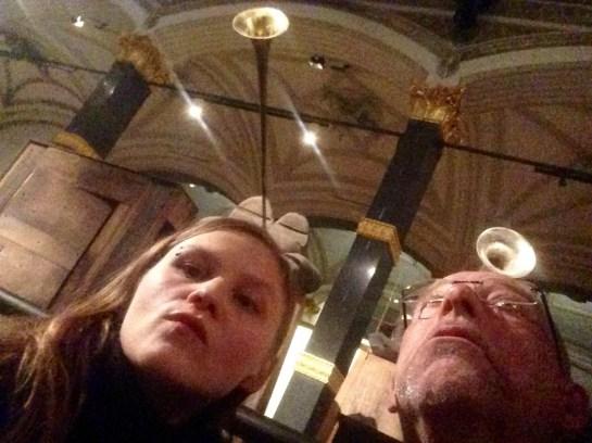 Anna Grau und Andreas Weber im Martin-Gropius-Bau zu Berlin (Nov 2015)