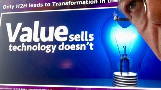 AW #influenceB2B Value sells