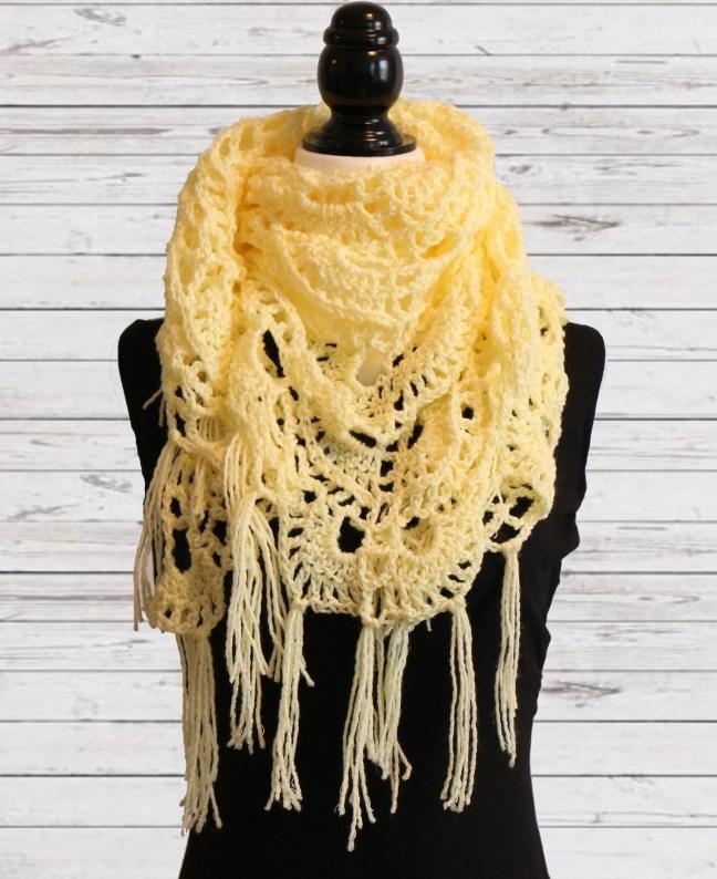 Yellow Shawl 3