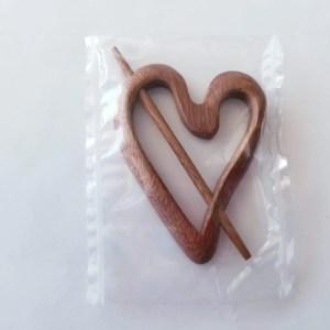 Shawl Pin - Heart