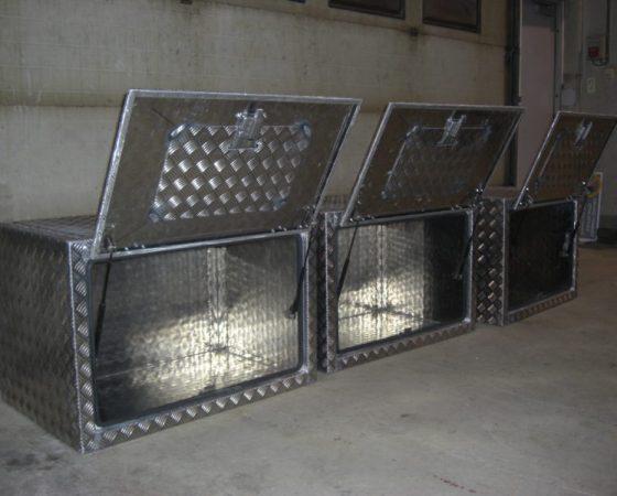 Kasser til brannbiler