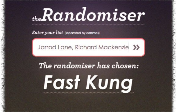 Win With Vamers inFAMOUS 2 Winner: Fast Kung