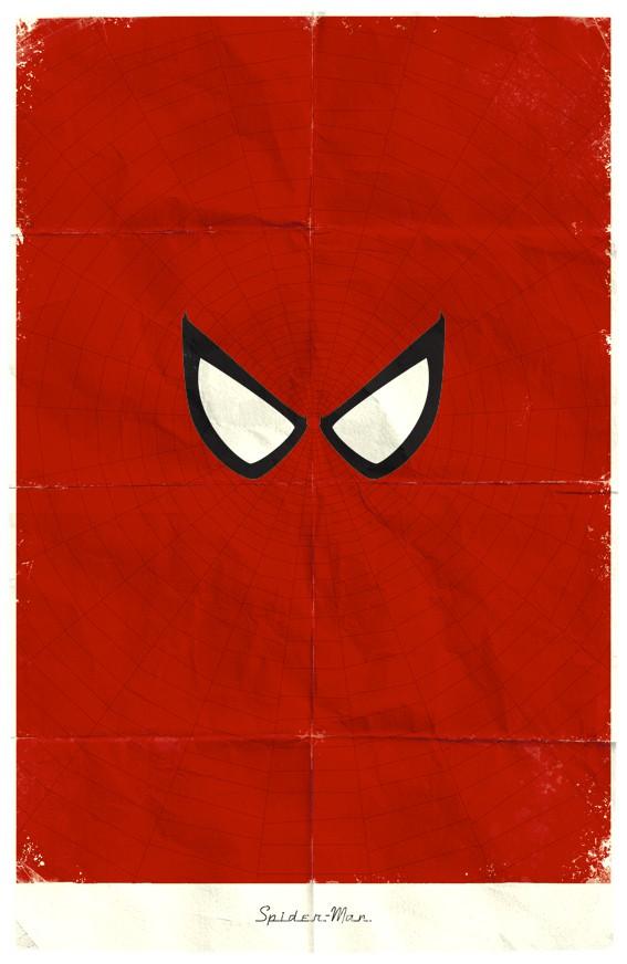 Vamers - Marko Manev - Minimalist Marvel Posters - Spider-Man