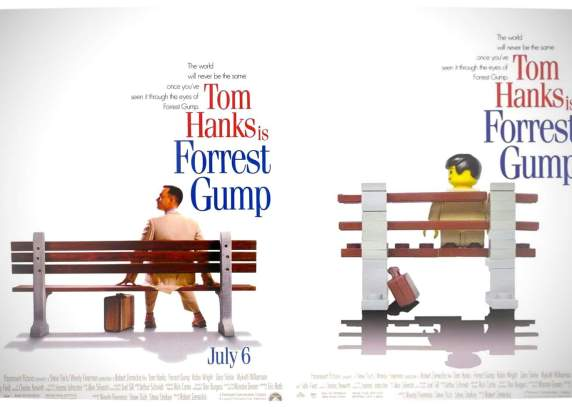Vamers - Fandom - Movie Lego Posters - Forrest Gump