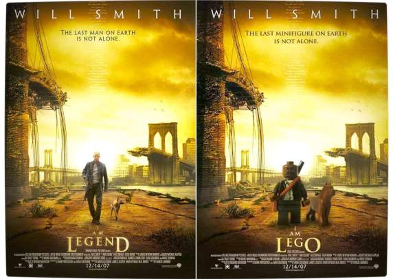 Vamers - Fandom - Movie Lego Posters - I Am Legend