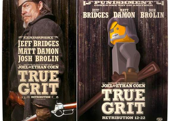 Vamers - Fandom - Movie Lego Posters - True Grit